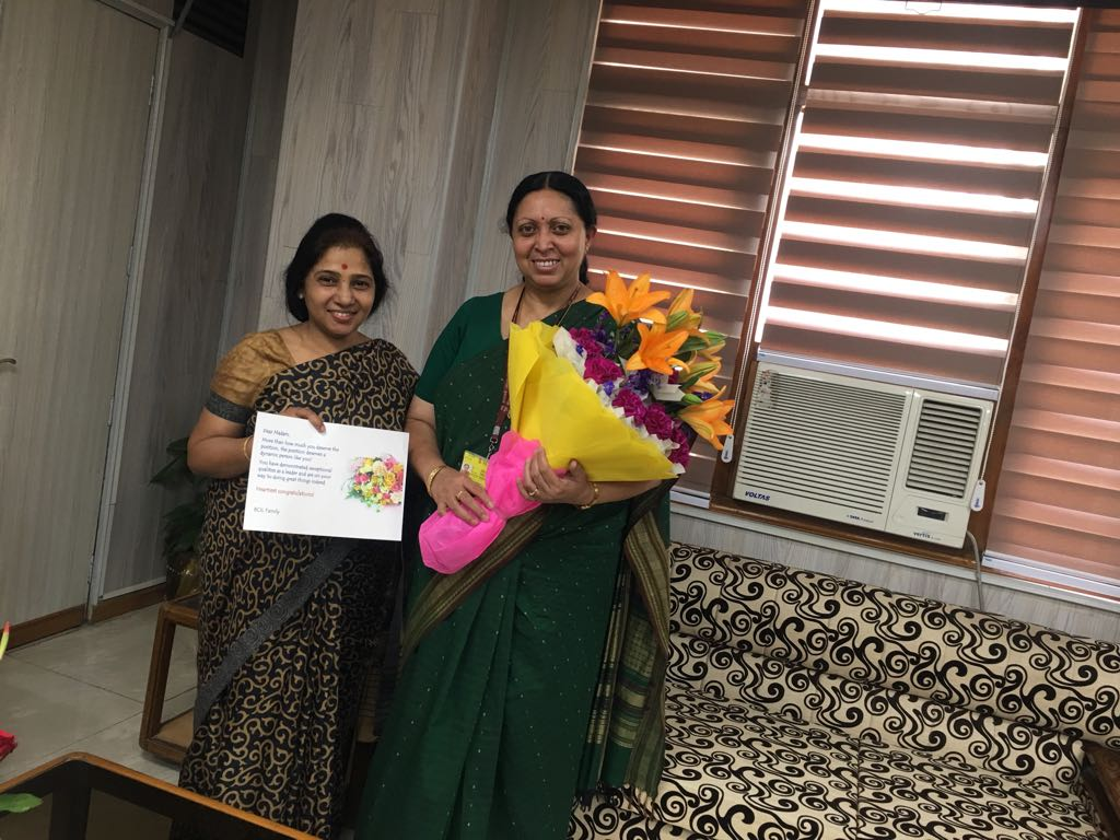 Dr. Purnima Sharma, MD BCIL Congratulates Dr. Renu Swarup for taking over as the Secretary Department of Biotechnology Government of India.